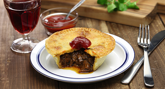 Grass Fed Beef Pies