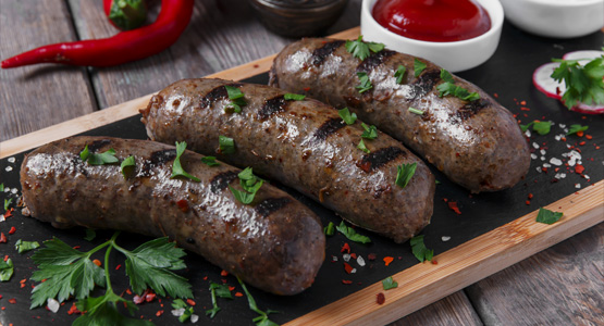 Grass Fed Beef Sausages
